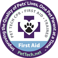 PetTech CPR and First Aid Training Badge